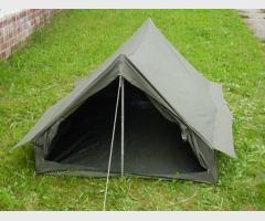 Палатка французской армии, двухместная, олива, новая